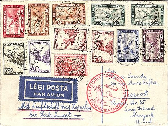 Südamerikafahrt 1930, Post nach Sevilla 57_i_u11