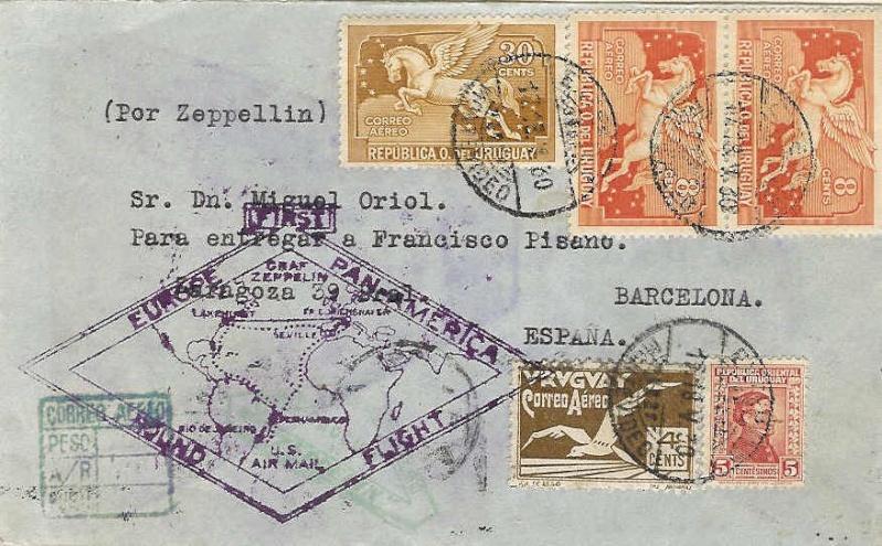 nach - Südamerikafahrt 1930, Post nach Sevilla - Seite 2 61_ba10