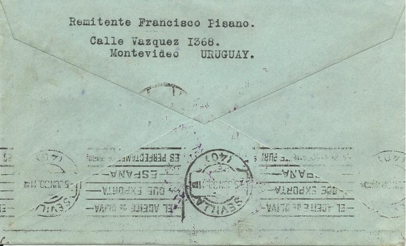 nach - Südamerikafahrt 1930, Post nach Sevilla - Seite 2 61_ba_10