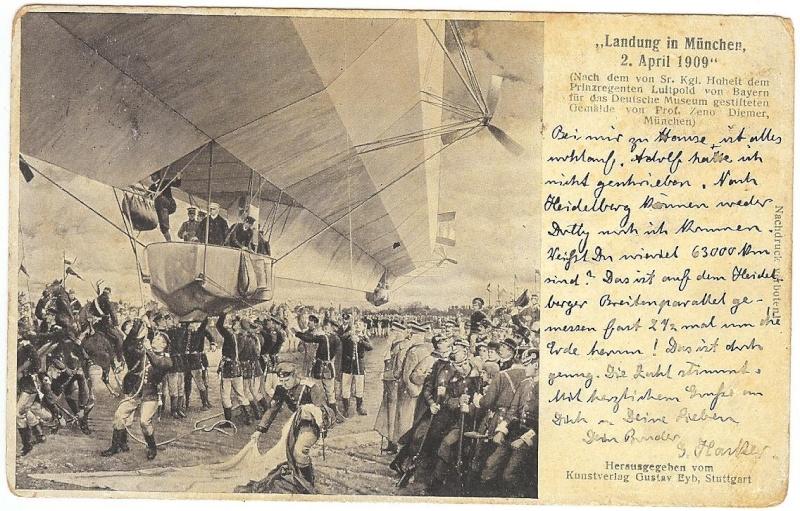 Zeppelinpost des LZ 17 8_7_6_11