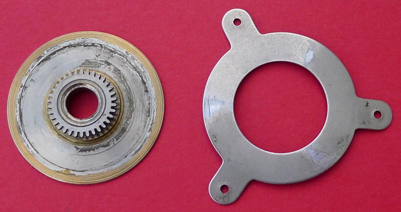 Démontage de la montre militaire Zenith Type B  L1010712