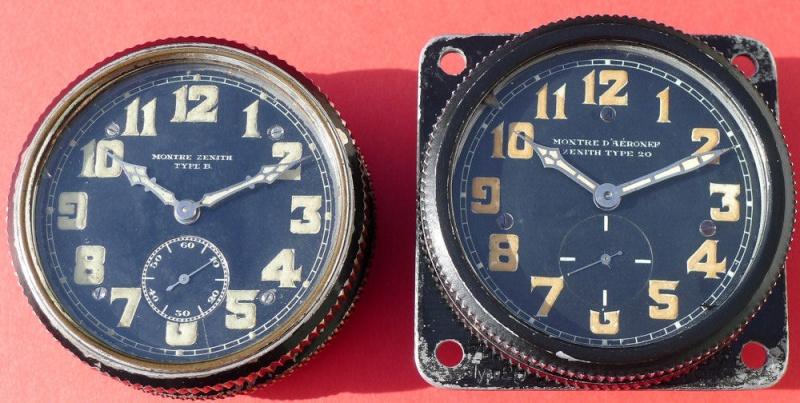 Démontage de la montre militaire Zenith Type B  L1010810