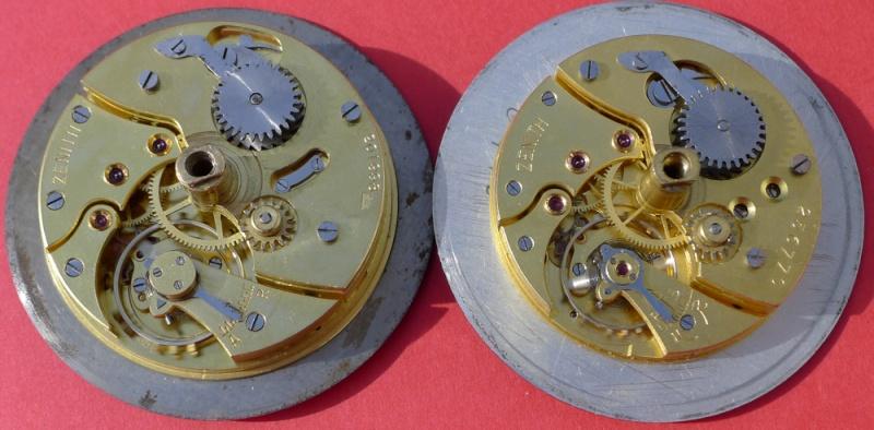 Démontage de la montre militaire Zenith Type B  L1010823