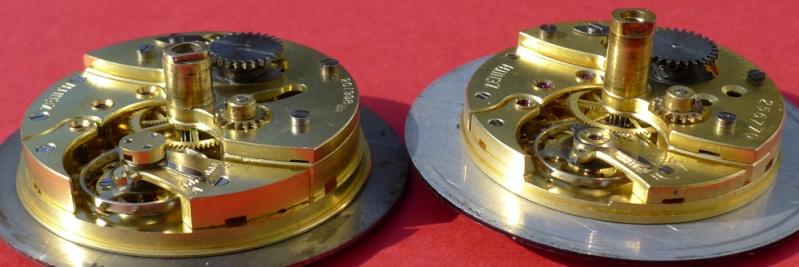 Démontage de la montre militaire Zenith Type B  L1010824