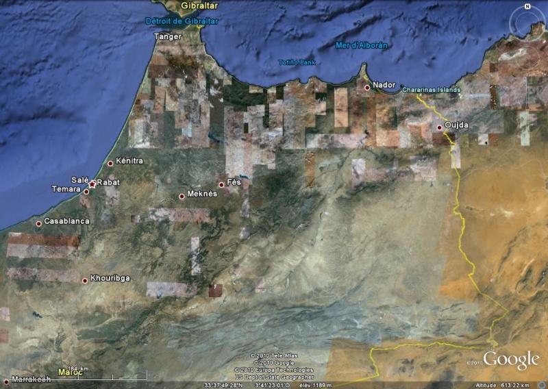 """[résolu]Vues de haut """"bandelettes de pixels"""" Maroc10"""