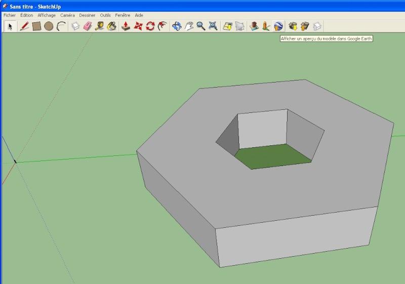 Comment faire un polygone extrudé comme le Pentagone dans GE ? [Problème Google Earth en attente] Polygo10