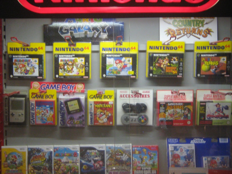 Ma collection mario : blister/console/jeux RARE et LIMITED (NEW 8/06) - Page 2 06110
