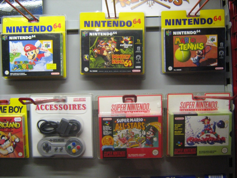 Ma collection mario : blister/console/jeux RARE et LIMITED (NEW 8/06) - Page 2 06910