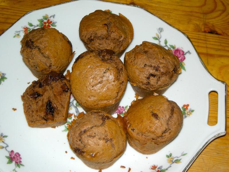 muffins au chocolat Dscn0510