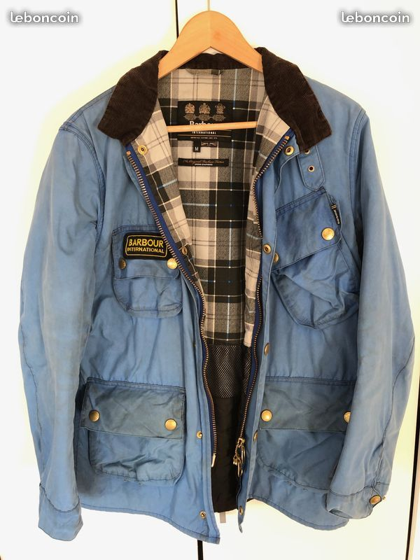 Wax cotton Merlin jackets - Page 2 Barbou10
