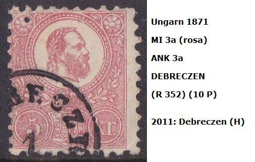 ungarn - m`s UNGARN 1871 3a_deb10