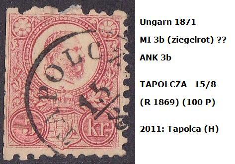 ungarn - m`s UNGARN 1871 3b_tap10