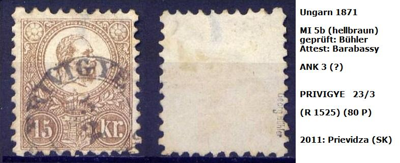 m`s UNGARN 1871 5b_p_p10