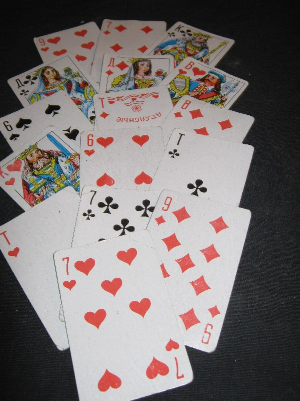 расклады и значения игральных карт. 004lm10