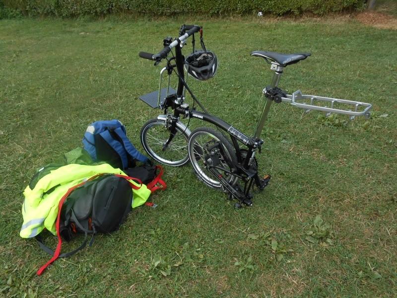 Quel matériel pour le cyclo-camping en Brompton ? 01310
