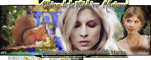 Mariage secret de Jrag de Marigny et d'Androlyne de Castellane Bannia11
