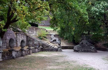 Руинный сад  Bomarz10