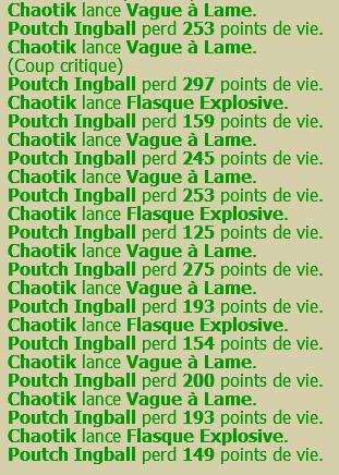 Chaotik, Eau [77] puis eau/feu [130] puis air [135]  130vvf10