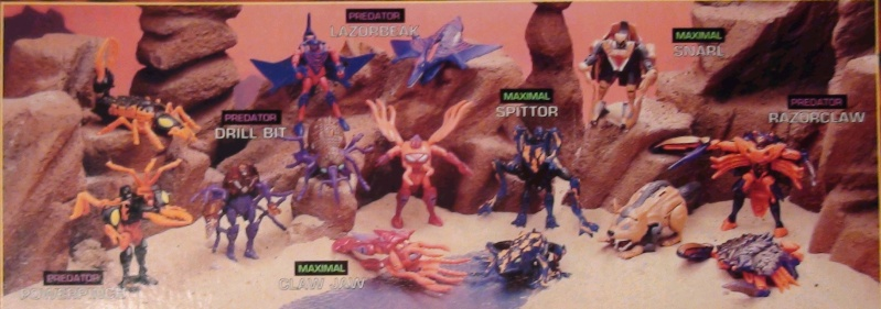 [Catalogues] Beast Wars Ani mutants A1010