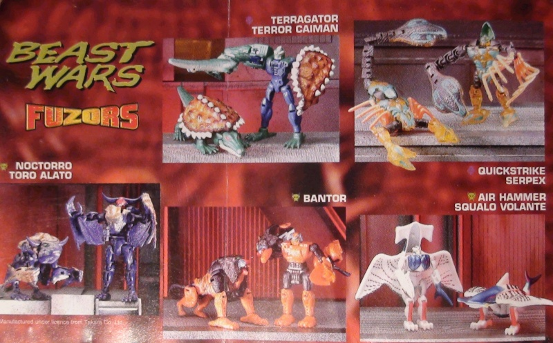 [Catalogues] Beast Wars Ani mutants A110
