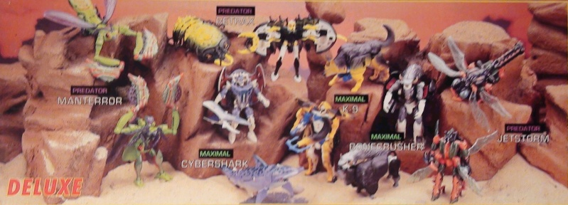 [Catalogues] Beast Wars Ani mutants A1110