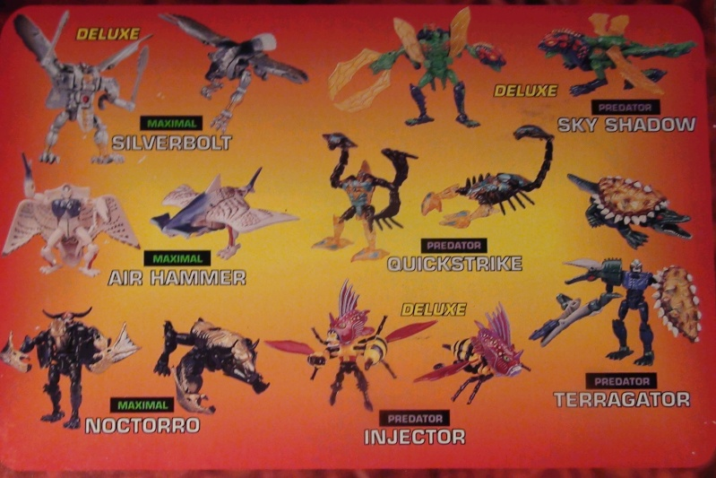 [Catalogues] Beast Wars Ani mutants A1210