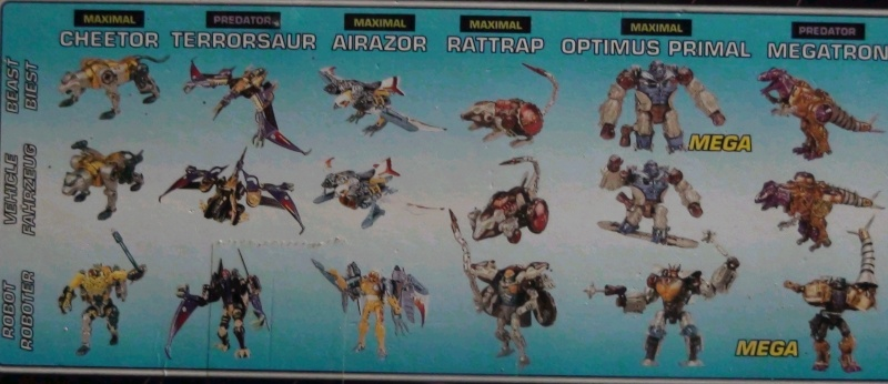 [Catalogues] Beast Wars Ani mutants A1310