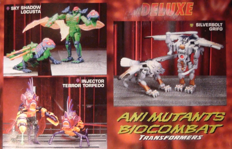 [Catalogues] Beast Wars Ani mutants A210