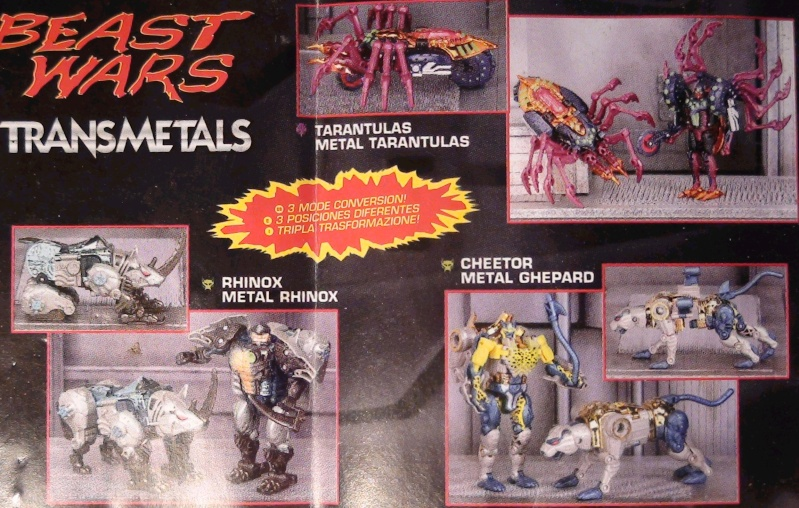 [Catalogues] Beast Wars Ani mutants A310