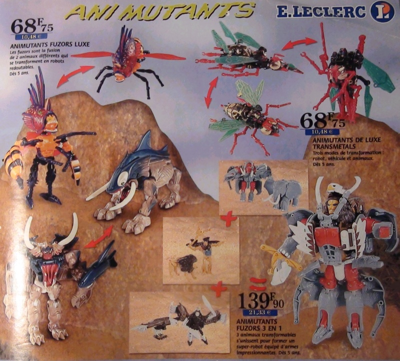 [Catalogues] Beast Wars Ani mutants A510