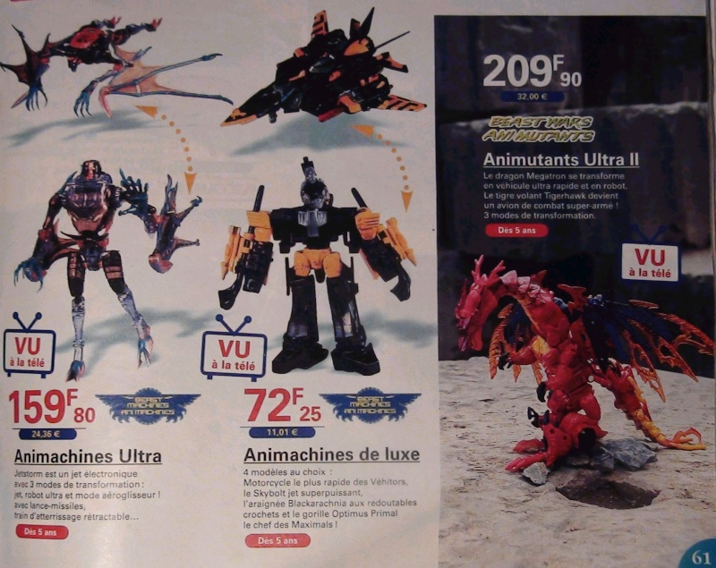 [Catalogues] Beast Wars Ani mutants A610