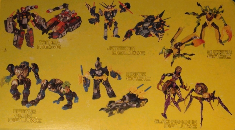 [Catalogues] Beast Wars Ani mutants A910