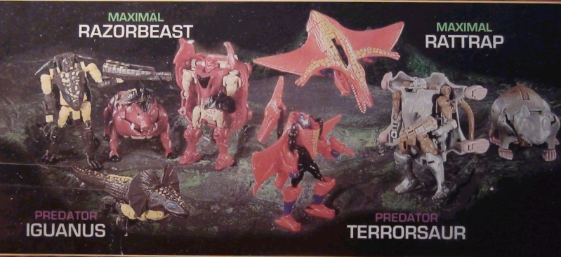 [Catalogues] Beast Wars Ani mutants Z110