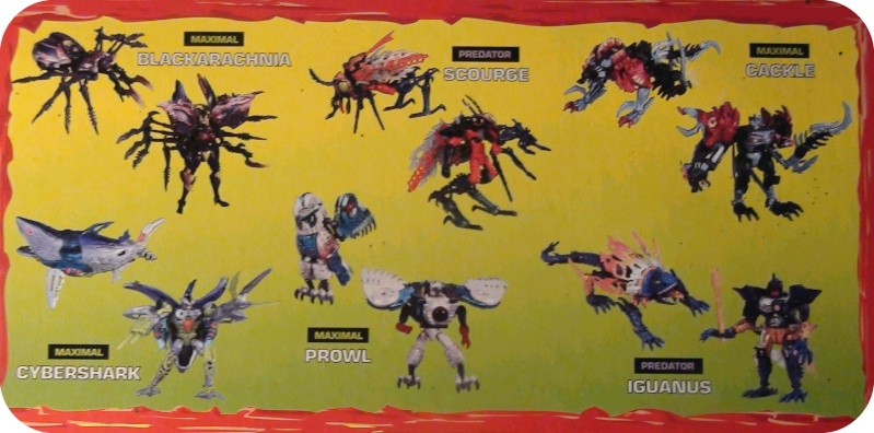 [Catalogues] Beast Wars Ani mutants Z1310