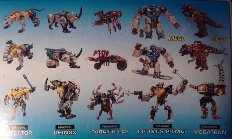 [Catalogues] Beast Wars Ani mutants Z1410