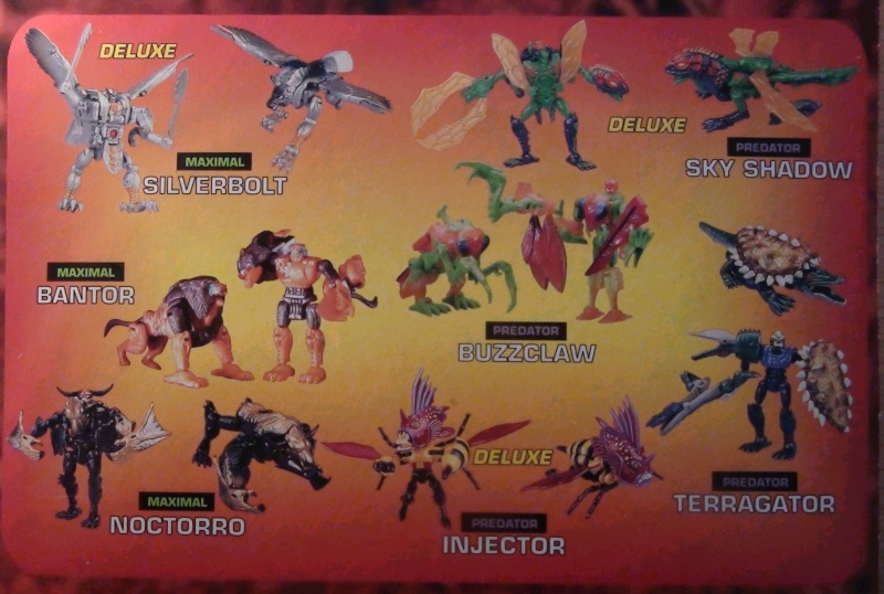 [Catalogues] Beast Wars Ani mutants Z1510