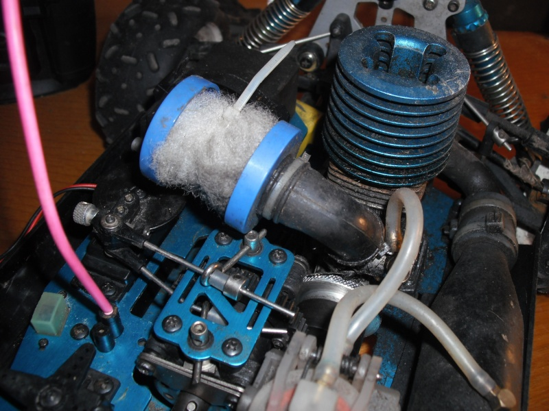 Juju's T2m blitz evo 1 moteur LRP Z.21R Prasen15