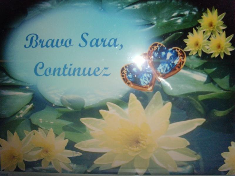 à Sara 3 ème sc Snv31610