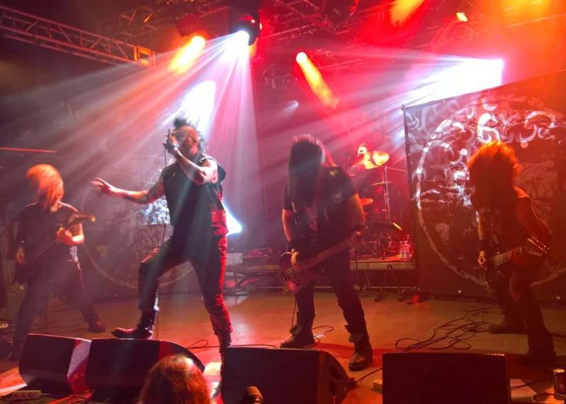 Dark Days Of Helsinki - Nosturi (Finland) September 22 - 2017 Band14