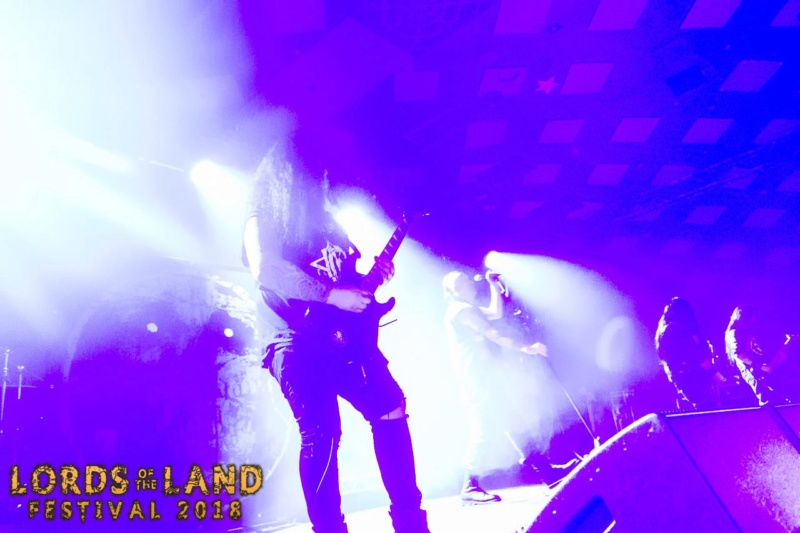 Lords Of The Land Festival - Glasgow (Scotland) April 07 - 2018  Band_211