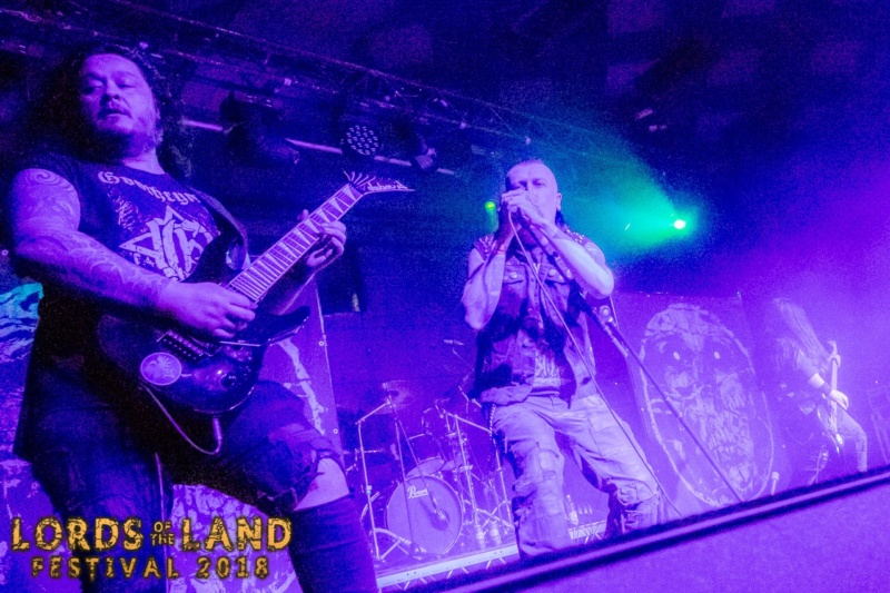 Lords Of The Land Festival - Glasgow (Scotland) April 07 - 2018  Band_510