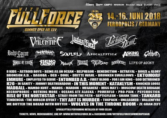 With Full Force Summer Open Air - Ferropolis (Germany) June 16 - 2018  With_f10