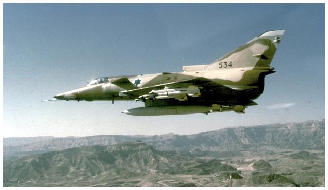 kfir C2/C7  IAF  AMK 1/72 Mseo_s10