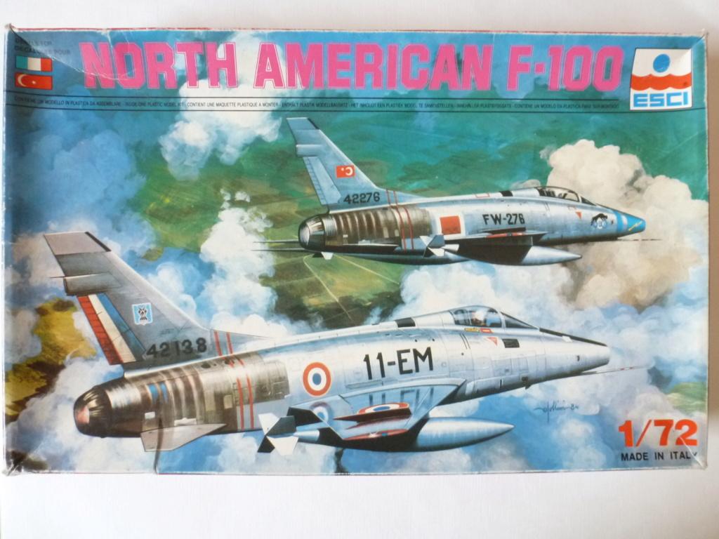 F 100 D Super Sabre  Turquie  ESCI  1/72 P1150610