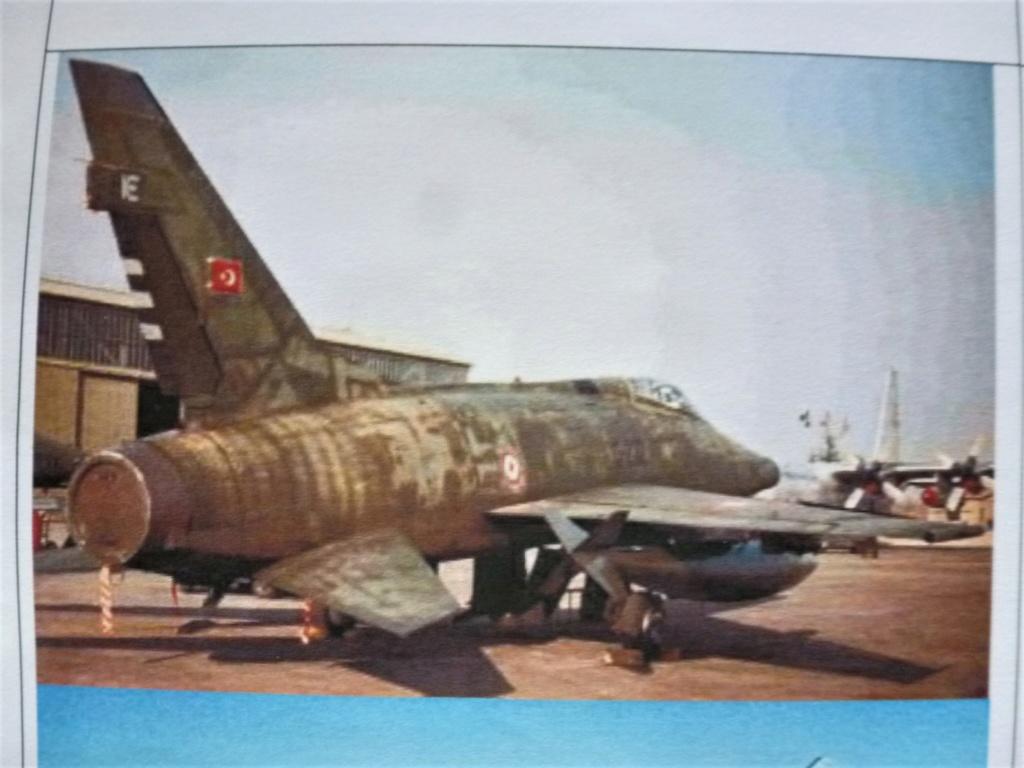 F 100 D Super Sabre  Turquie  ESCI  1/72 P1150613