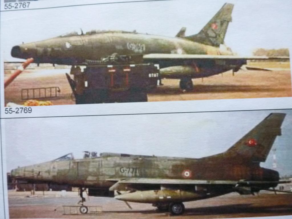F 100 D Super Sabre  Turquie  ESCI  1/72 P1150614