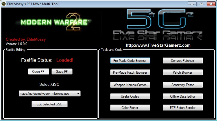EliteMossy's PS3 Modern Warfare 2 Multi Tool  C78bd310