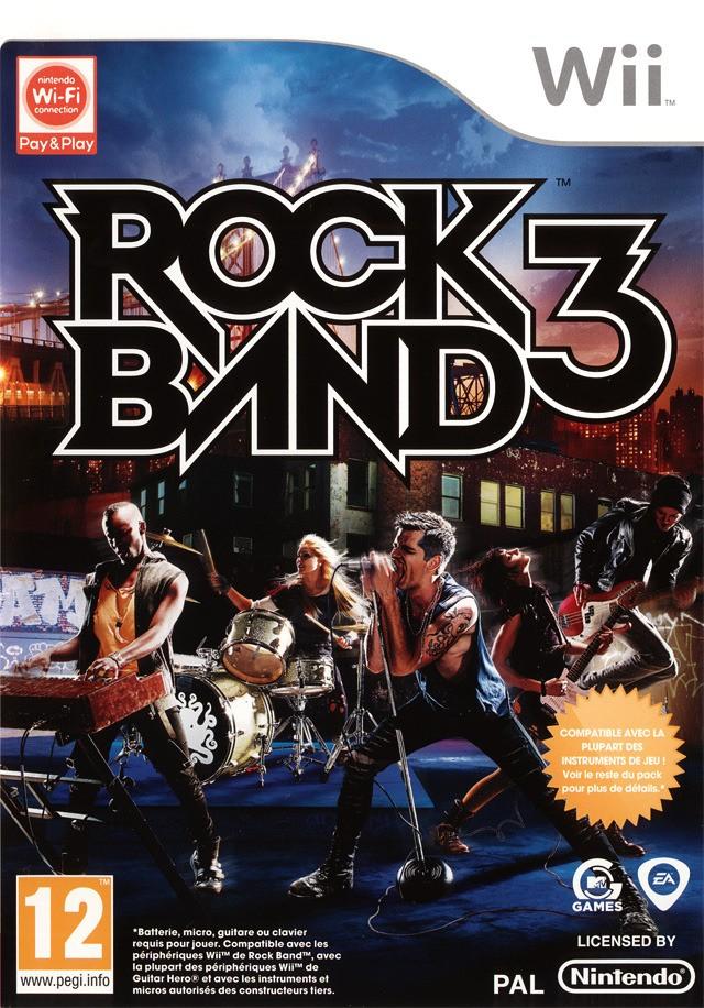 Rock Band 3 USA Wii Jaquet10