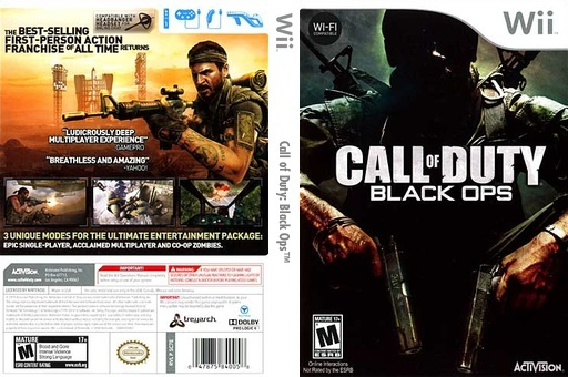 Call Of Duty Black Ops USA WII 1.5 GB 3 Links Sc7e5210