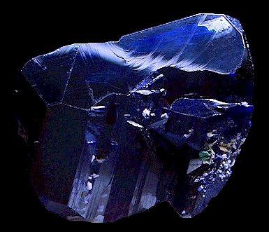 Голубые кристаллы  Blue10